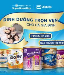 Abbott và Shopee chào đón Ngày Dinh dưỡng Gia đình, khuyến khích người Việt ăn uống hợp lý và sống lành mạnh