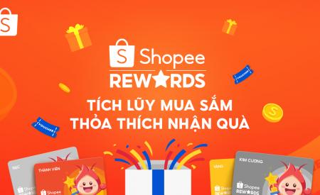 Shopee giới thiệu Chương trình Shopee Rewards đem lại nhiều lợi ích và tiết kiệm chi phí mua sắm cho người tiêu dùng Việt Nam.