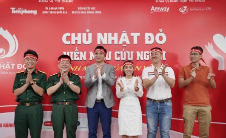 Amway Việt Nam tiếp tục đồng hành cùng chương trình hiến máu Chủ nhật Đỏ lần XIII - năm 2021