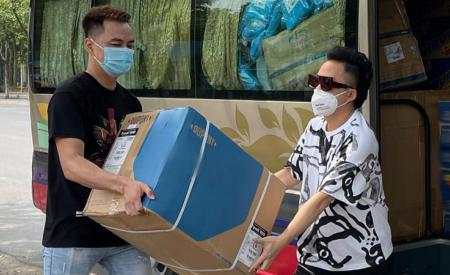 Tùng Dương kêu gọi 400 triệu đồng ủng hộ Bắc Giang